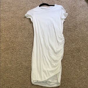 Vici new fitted t shirt dress with side ruching